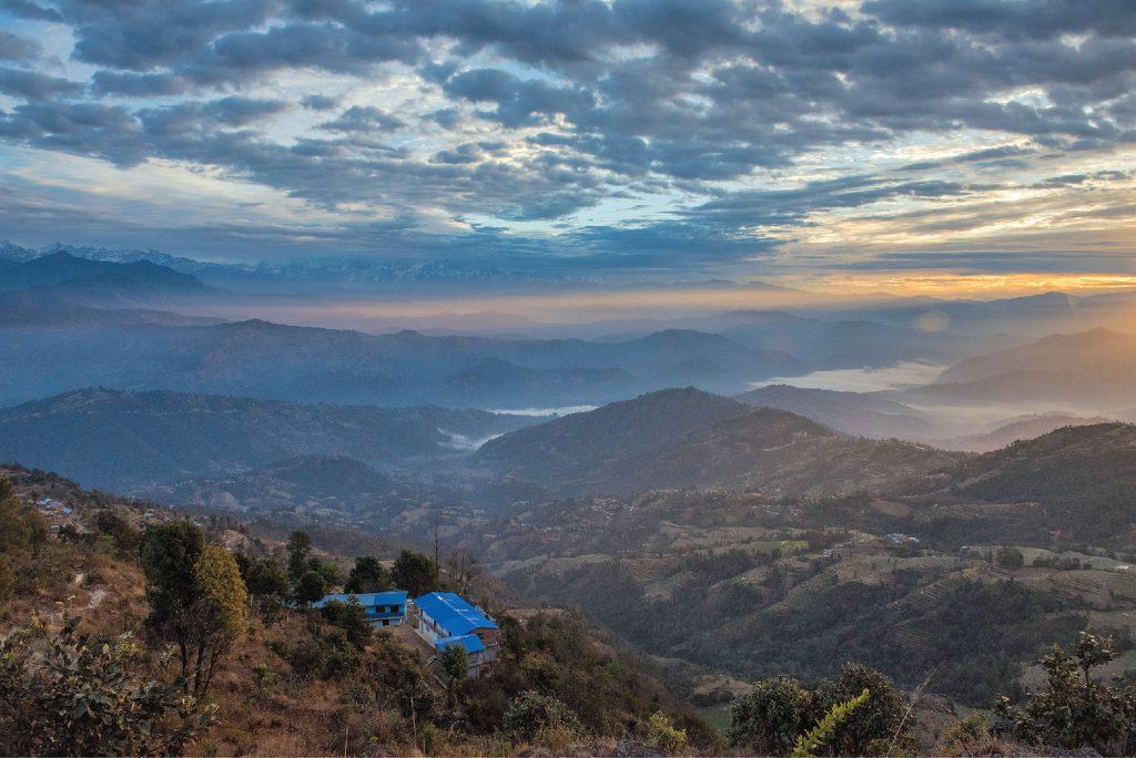 The surreal beauty of Nagarkot hill station, Nepal.
