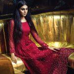After sunset; Sahar Rahman Couture's stunning evening wear