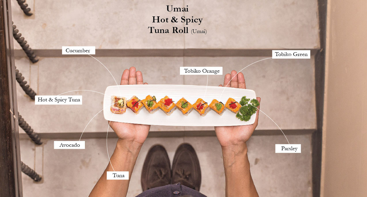 Umai Hot & Spicy Tuna Roll (Umai)