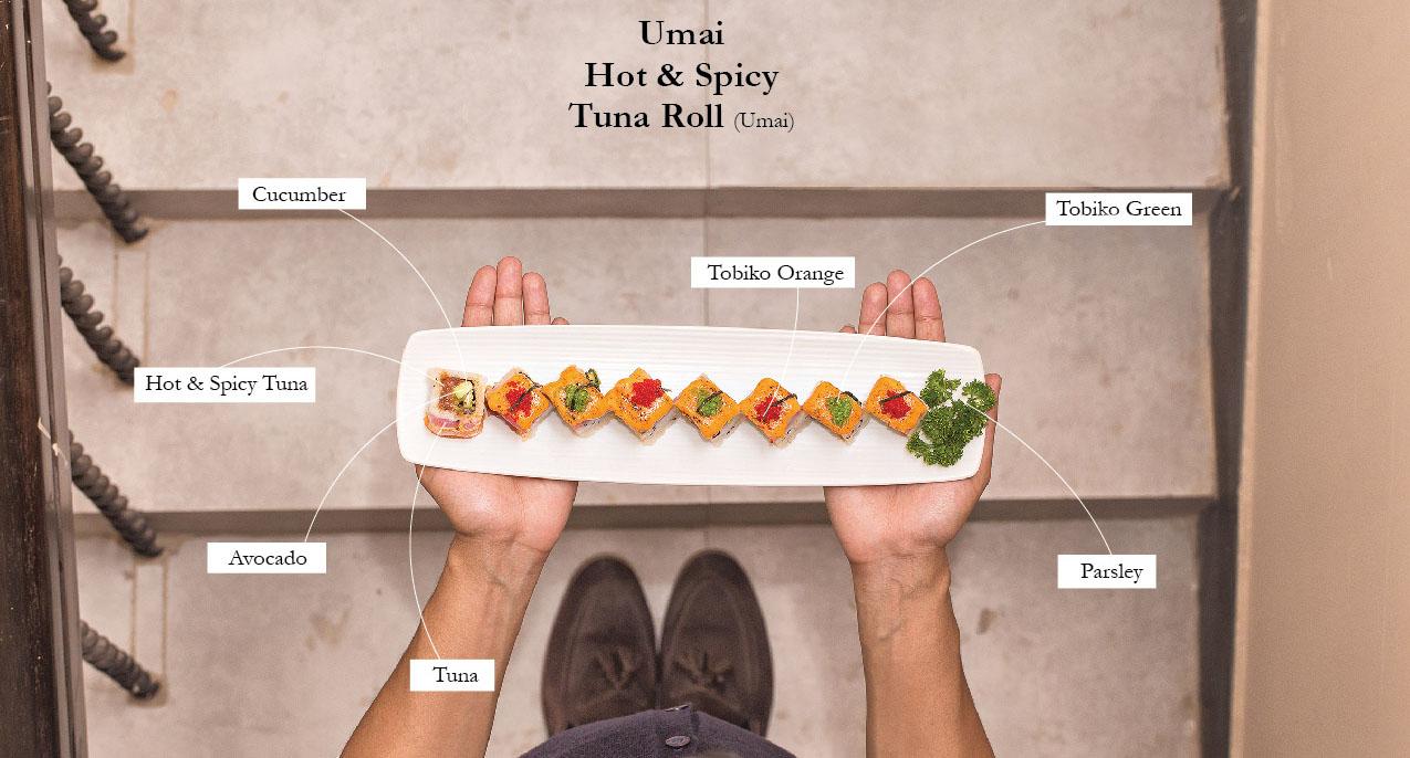 Umai Hot & Spicy Tuna Roll (Umai)