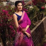 Look radiant this Spring in Anjan's vibrant range of sarees
