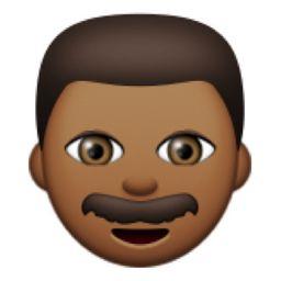 dark guy emoji ice today