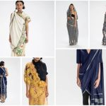 Let Border & Fall show you to make sari draping into visual art