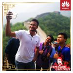 A journey through China with Shakib Al Hasan organised by Huawei Consumer Business Group