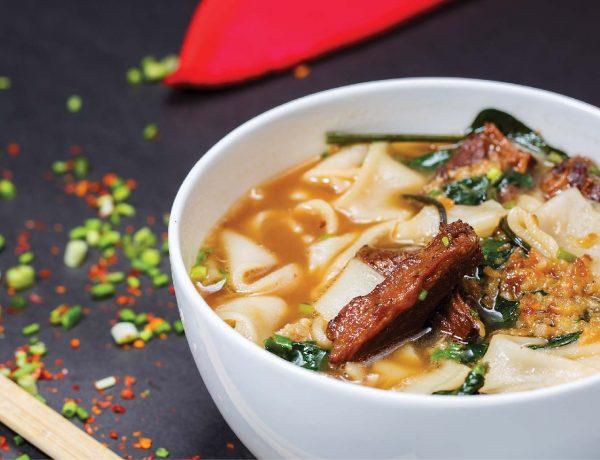 Hobnob Beef Noodle Soup