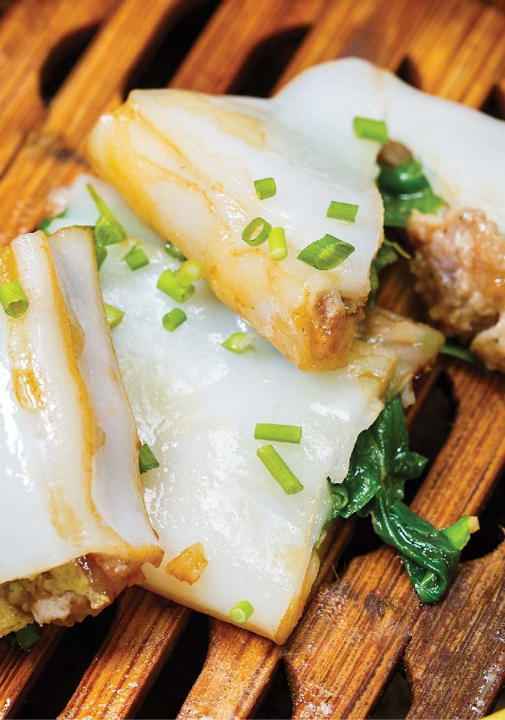 Steamed Rice Noodle Roll