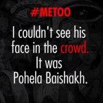 Me Too: One Hashtag, Thousand Stories. #MeToo