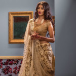 Vasavi has something exclusive for every bride who loves trendy wedding enesemble