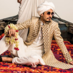 It's time for the Grooms to button up with O2's exclusive colorful Sherwani collection